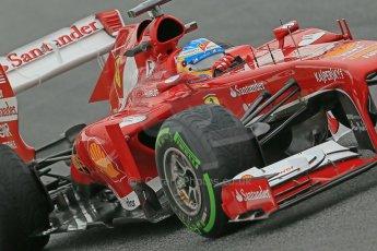 World © Octane Photographic Ltd. F1 Spanish GP, Circuit de Catalunya, Friday 10th May 2013. Practice 1. Fernando Alonso - Scuderia Ferrari. Digital Ref : 0659cb1d9304