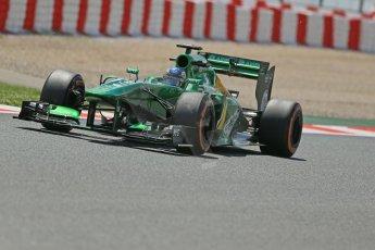 World © Octane Photographic Ltd. F1 Spanish GP, Circuit de Catalunya, Friday 10th May 2013. Practice 2. Caterham CT03 - Charles Pic. Digital Ref : 0661cb1d9457