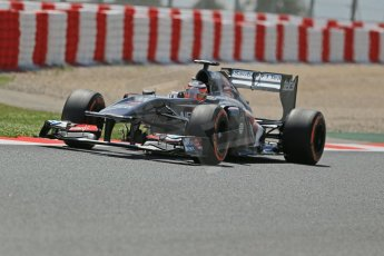 World © Octane Photographic Ltd. F1 Spanish GP, Circuit de Catalunya, Friday 10th May 2013. Practice 2. Sauber - Nico Hulkenberg. Digital Ref : 0661cb1d9465