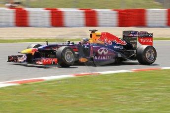 World © Octane Photographic Ltd. F1 Spanish GP, Circuit de Catalunya, Friday 10th May 2013. Practice 2. Infiniti Red Bull Racing - Sebastian Vettel. Digital Ref : 0661cb7d8861