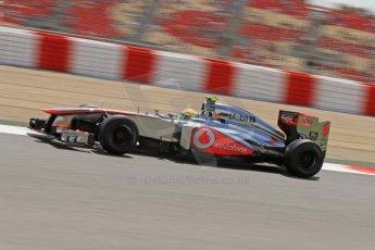 World © Octane Photographic Ltd. F1 Spanish GP, Circuit de Catalunya, Friday 10th May 2013. Practice 2. Vodafone McLaren Mercedes - Sergio Perez. Digital Ref : 0661cb7d8872