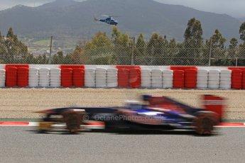 World © Octane Photographic Ltd. F1 Spanish GP, Circuit de Catalunya, Friday 10th May 2013. Practice 2. Toro Rosso - Daniel Ricciardo. Digital Ref : 0661cb7d8875