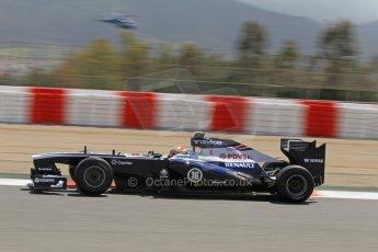 World © Octane Photographic Ltd. F1 Spanish GP, Circuit de Catalunya, Friday 10th May 2013. Practice 2. Williams - Pastor Maldonado. Digital Ref : 0661cb7d8887