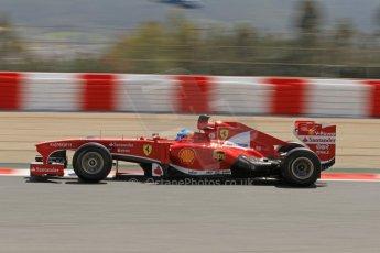 World © Octane Photographic Ltd. F1 Spanish GP, Circuit de Catalunya, Friday 10th May 2013. Practice 2. Scuderia Ferrari - Fernando Alonso. Digital Ref : 0661cb7d8915