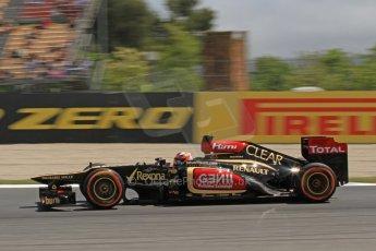 World © Octane Photographic Ltd. F1 Spanish GP, Circuit de Catalunya, Friday 10th May 2013. Practice 2. Lotus - Kimi Raikkonen. Digital Ref : 0661cb7d8964