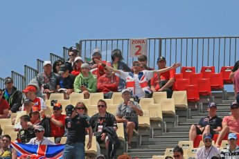 World © 2013 Octane Photographic Ltd. F1 Spanish GP, Circuit de Catalunya - Sunday 12th May 2013 - Race. Race crowds Atmosphere. Digital Ref :