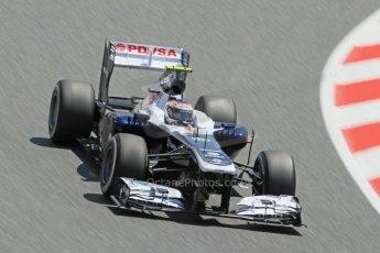 World © 2013 Octane Photographic Ltd. F1 Spanish GP, Circuit de Catalunya - Sunday 12th May 2013 - Race. Sauber C32, Esteban Gutierrez. Digital Ref : 0673cb1d2459