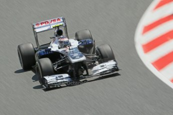 World © 2013 Octane Photographic Ltd. F1 Spanish GP, Circuit de Catalunya - Sunday 12th May 2013 - Race. Williams FW35 - Valtteri Bottas. Digital Ref : 0673cb1d2533