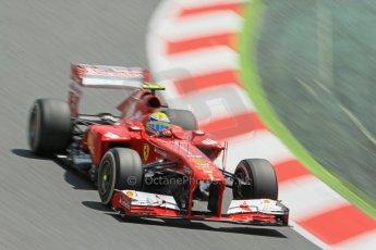 World0673cb1d2555 © 2013 Octane Photographic Ltd. F1 Spanish GP, Circuit de Catalunya - Sunday 12th May 2013 - Race. Scuderia Ferrari F138 - Felipe Massa. Digital Ref :