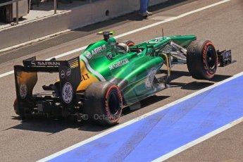 World © 2013 Octane Photographic Ltd. F1 Spanish GP, Circuit de Catalunya - Sunday 12th May 2013 - Race. Caterham CT02 - Giedo van der Garde. Digital Ref : 0673cb7d9486