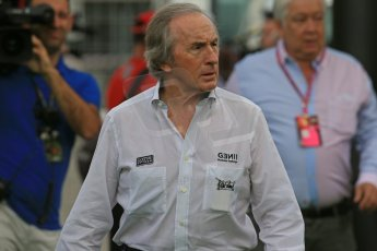 World © Octane Photographic Ltd. F1 Spanish GP - Saturday Paddock - 11th May 2013. Sir Jackie Stewart. Digital Ref : 0668cb1d0293
