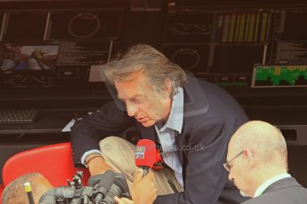World © Octane Photographic Ltd. F1 Spanish GP - Saturday Paddock - 11th May 2013. Luca di Montezemolo - Scuderia Ferrari. Digital Ref : 0668cb1d1535