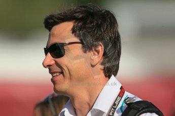 World © 2013 Octane Photographic Ltd. F1 Spanish GP, Circuit de Catalunya - Sunday 12th May 2013 - Paddock. Mercedes - Toto Wolff. Digital Ref : 0675cb1d1861