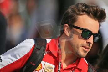 World © 2013 Octane Photographic Ltd. F1 Spanish GP, Circuit de Catalunya - Sunday 12th May 2013 - Paddock. Ferrari - Fernando Alonso. Digital Ref : 0675cb1d2087