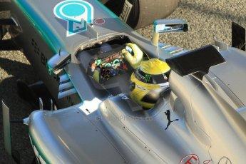 World © Octane Photographic Ltd. Formula 1 Winter Test Jerez – Day 1 – Tuesday 5th February 2013. Mercedes AMG Petronas F1 W04 – Nico Rosberg. Digital Ref: 0571cb7d6580