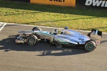 World © Octane Photographic Ltd. Formula 1 Winter Test Jerez – Day 1 – Tuesday 5th February 2013. Mercedes AMG Petronas F1 W04 – Nico Rosberg. Digital Ref: 0571cb7d6594