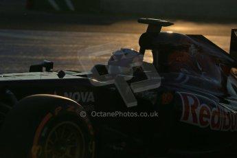 World © Octane Photographic Ltd. Formula 1 Winter Test Jerez – Day 1 – Tuesday 5th February 2013. Toro Rosso STR8, Daniel Ricciardo. Digital Ref: 0571lw1d7528