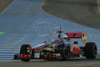 World © Octane Photographic Ltd. Formula 1 Winter Test Jerez – Day 1 – Tuesday 5th February 2013. Vodafone McLaren Mercedes MP4/28, Jenson Button. Digital Ref: 0571lw1d7591