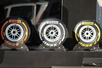 World © Octane Photographic Ltd. Formula 1 Winter testing, Jerez, 6th February 2013. 2013 Spec F1 Pirelli tyres. Digital Ref: 0572cb7d7088