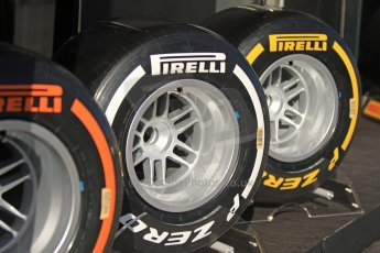 World © Octane Photographic Ltd. Formula 1 Winter testing, Jerez, 6th February 2013. 2013 Spec F1 Pirelli tyres. Digital Ref: 0572cb7d7091