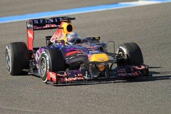 World © Octane Photographic Ltd. Formula 1 Winter testing, Jerez, 7th February 2013. Infiniti Red Bull Racing RB9, Sebastian Vettel. Digital Ref: 0573cb7d2405