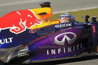 World © Octane Photographic Ltd. Formula 1 Winter testing, Jerez, 7th February 2013. Infiniti Red Bull Racing RB9, Sebastian Vettel. Digital Ref: 0573cb7d2408