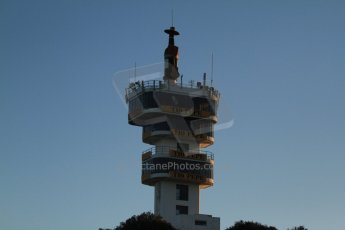 World © Octane Photographic Ltd. Formula 1 Winter testing, Jerez, 7th February 2013. The Jerez Tio Pepe tower. Digital Ref: 0573cb7d7115