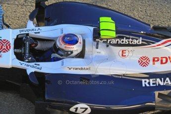 World © Octane Photographic Ltd. Formula 1 Winter testing, Jerez, 7th February 2013. Williams FW34, Valterri Bottas. Digital Ref: 0573cb7d7184