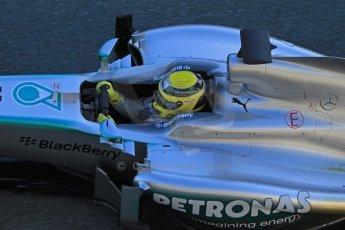 World © Octane Photographic Ltd. Formula 1 Winter testing, Jerez, 7th February 2013. Mercedes AMG Petronas F1 W04, Nico Rosberg. Digital Ref: 0573cb7d7218
