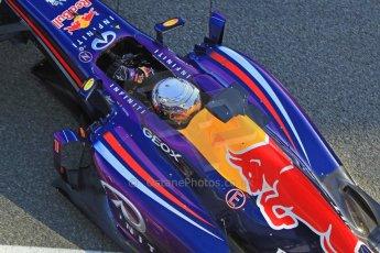 World © Octane Photographic Ltd. Formula 1 Winter testing, Jerez, 7th February 2013. Infiniti Red Bull Racing RB9, Sebastian Vettel. Digital Ref: 0573cb7d7225