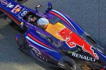 World © Octane Photographic Ltd. Formula 1 Winter testing, Jerez, 7th February 2013. Infiniti Red Bull Racing RB9, Sebastian Vettel. Digital Ref: 0573cb7d7227