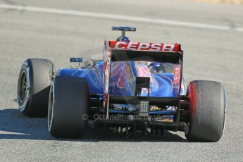 World © Octane Photographic Ltd. Formula 1 Winter testing, Jerez, 7th February 2013. Toro Rosso STR8, Jean-Eric Vergne. Digital Ref: 0573lw1d9338