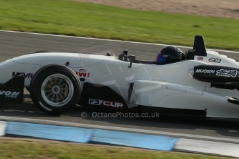 World © Octane Photographic Ltd. MSV F3 Cup, Donington Park, Qualifying 28th September 2013. Magic Motorsport, Dallara F306 Mugen Honda, Mark Harrison. Digital Ref : 0832lw1d8943