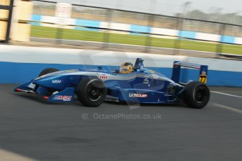 World © Octane Photographic Ltd. MSV F3 Cup, Donington Park, Qualifying 28th September 2013. Dallara F301 Opel Spiess, Dave Karaskas. Digital Ref : 0832lw1d9193