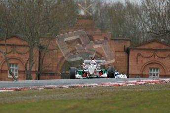 World © Octane Photographic Ltd. F3 Cup – Oulton Park - Race 1, Monday 1st April 2013. Alice Powell – Mark Bailey Racing - Dallara F305. Digital Ref : 0624lw1d9671