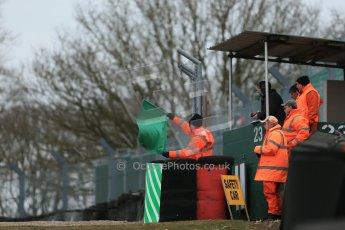 World © Octane Photographic Ltd. F3 Cup – Oulton Park - Race 1, Monday 1st April 2013. Green Flag. Digital Ref : 0624lw1d9726