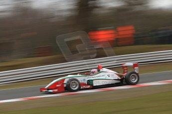 World © Octane Photographic Ltd. F3 Cup – Oulton Park - Race 1, Monday 1st April 2013. Alice Powell – Mark Bailey Racing - Dallara F305. Digital Ref : 0624lw7d3696