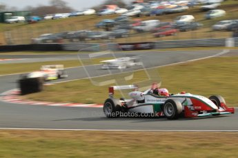 World © Octane Photographic Ltd. F3 Cup – Oulton Park, Monday 1st April 2013 – Race 2. Alice Powell – Mark Bailey Racing - Dallara F305. Digital Ref : 0626lw7d3799