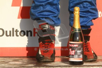 World © Octane Photographic Ltd. F3 Cup special labelled champagne. Digital Ref : 0626lw7d3894
