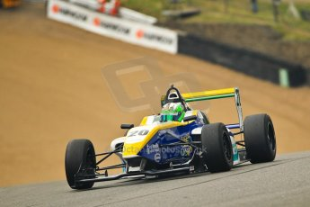 World © Octane Photographic Ltd. BRDC Formula 4 (F4) Championship - Brands Hatch, May 17th 2013. MSV F4-013. HHC Motorsport – Gustavo Lima. Digital Ref : 0677ce1d0319