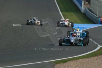World © Octane Photographic Ltd. BRDC Formula 4 (F4) Race 1, Donington Park 28th September 2013. MSVF4-13, Hillspeed, Rahul Raj Mayer. Digital Ref : 0833lw1d9633