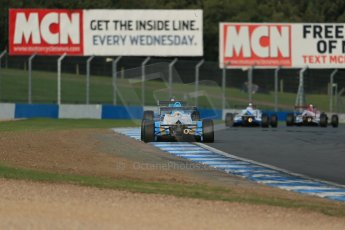World © Octane Photographic Ltd. BRDC Formula 4 (F4) Race 1, Donington Park 28th September 2013. MSVF4-13, HHC Motorsport, Gustavo Lima. Digital Ref : 0833lw1d9642