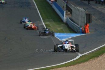 World © Octane Photographic Ltd. BRDC Formula 4 (F4) Race 1, Donington Park 28th September 2013. MSVF4-13, Lanan Racing, Jake Hughes. Digital Ref : 0833lw1d9651