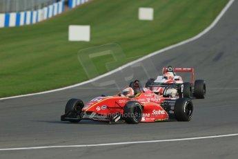 World © Octane Photographic Ltd. BRDC Formula 4 (F4) Race 1, Donington Park 28th September 2013. MSVF4-13, CDR (Chris Dittmann Racing), Max Cornelius. Digital Ref : 0833lw1d9668