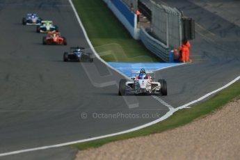 World © Octane Photographic Ltd. BRDC Formula 4 (F4) Race 1, Donington Park 28th September 2013. MSVF4-13, Lanan Racing, Jake Hughes. Digital Ref : 0833lw1d9684