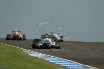 World © Octane Photographic Ltd. BRDC Formula 4 (F4) Race 1, Donington Park 28th September 2013. Digital Ref : 0833lw1d9832