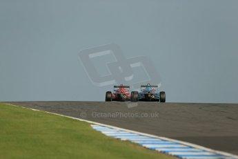 World © Octane Photographic Ltd. BRDC Formula 4 (F4) Race 1, Donington Park 28th September 2013. Digital Ref : 0833lw1d9839