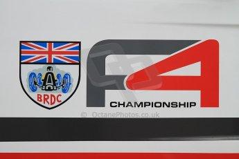 World © Octane Photographic Ltd. BRDC Formula 4 (F4) Championship, Silverstone, April 27th 2013. Digital Ref : 0642cb7d9293