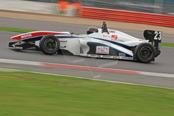 World © Octane Photographic Ltd. BRDC Formula 4 (F4) Championship, Silverstone, April 27th 2013. MSV F4-013, Sean Walkinshaw Racing, Zou Sirui. Digital Ref : 0642cb7d9347