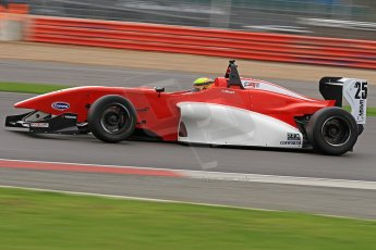 World © Octane Photographic Ltd. BRDC Formula 4 (F4) Championship, Silverstone, April 27th 2013. MSV F4-013, Hillspeed, Struan Moore. Digital Ref : 0642cb7d9364